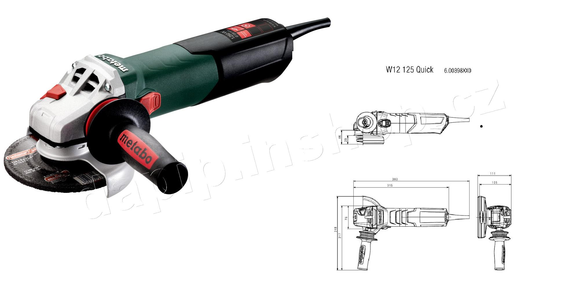 W 12-125 QUICK - METABO