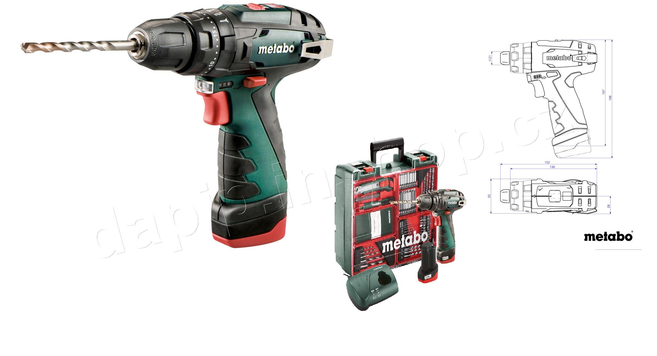 PowerMaxx SB Basic SET - METABO