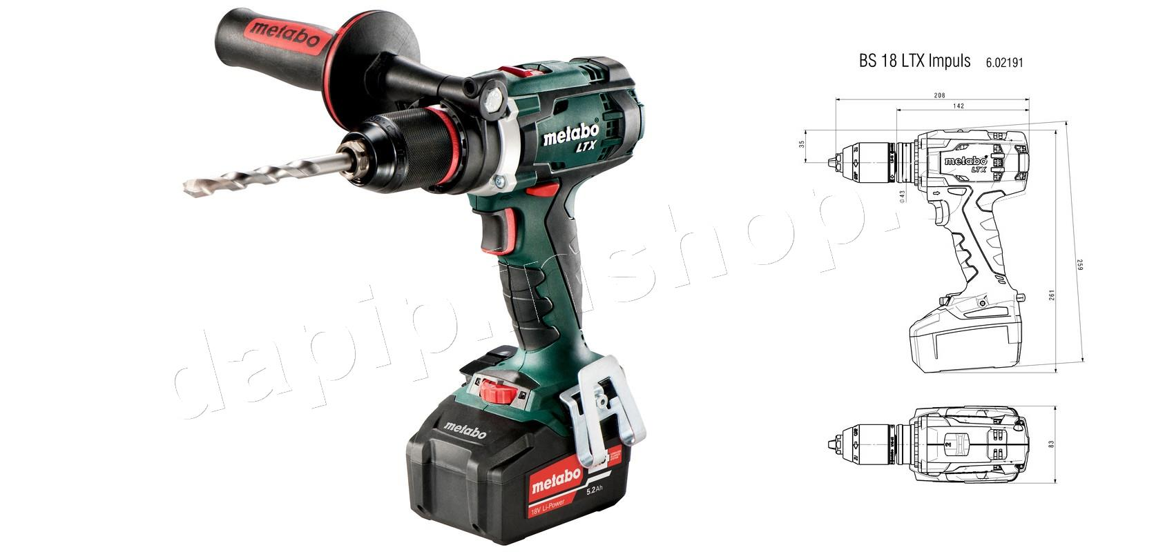 BS 18 LTX IMPULS - METABO